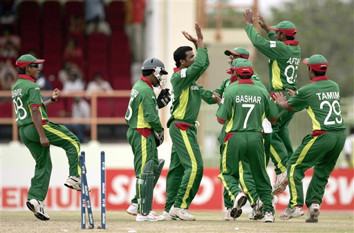 Tigers pulled off yet another sensational victory in the World Cup, this time against South Africa. (AP Photo)